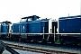 """Deutz 57384 - DB """"211 147-4"""" 15.04.1989 Heilbronn,Bahnbetriebswerk [D] Ernst Lauer"""