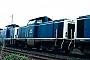 """Deutz 57389 - DB """"211 152-4"""" 15.04.1989 Heilbronn,Bahnbetriebswerk [D] Ernst Lauer"""