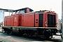 """Deutz 57403 - DB """"211 166-4"""" 11.07.1985 Heidelberg,Bahnbetriebswerk [D] Malte Werning"""