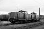"""Deutz 57591 - DB """"212 222-4"""" 13.11.1977 Mannheim,Rangierbahnhof [D] Karl-Heinz Sprich (Archiv ILA Barths)"""