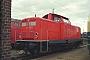 """Deutz 57758 - DB Cargo """"212 358-6"""" 01.09.2002 Gießen,Bahnbetriebswerk [D] Marvin Fries"""