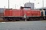 "Deutz 57778 - DB AG ""212 378-4"" 23.03.1991 Schweinfurt,Bahnbetriebswerk [D] Ingmar Weidig"