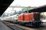 """Esslingen 5295 - DB """"211 359-5"""" 22.09.1980 Schaffhausen [CH] Theo Stolz"""