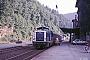 """Esslingen 5299 - DB """"211 363-7"""" 31.07.1984 Calw,Bahnhof [D] Ingmar Weidig"""
