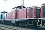 "Henschel 30522 - DB ""211 173-0"" 15.04.1989 Heilbronn,Bahnbetriebswerk [D] Ernst Lauer"