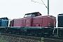 "Henschel 30525 - DB ""211 176-3"" 15.04.1989 Heilbronn,Bahnbetriebswerk [D] Ernst Lauer"