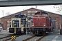 """Henschel 30544 - DB """"211 195-3"""" 23.03.1991 Schweinfurt,Bahnbetriebswerk [D] Ingmar Weidig"""
