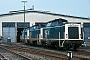 "Henschel 30554 - DB ""211 205-0"" 06.05.1984 Landau(Pfalz),Betriebswerk [D] Ingmar Weidig"