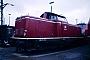 """Henschel 30797 - DB """"212 111-9"""" 24.07.1988 Kaiserslautern,Bahnbetriebswerk [D] Ernst Lauer"""