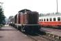 """Henschel 30798 - DB """"212 112-7"""" 14.05.1988 Michelstadt(Odenwald),Bahnhof [D] Manfred Britz"""