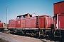 """Henschel 30801 - DB AG """"212 115-0"""" 03.07.1994 Lübeck,Betriebswerk [D] Bart Donker"""