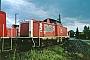 """Henschel 30802 - DB Cargo """"212 116-8"""" 01.05.2001 Darmstadt [D] Ernst Lauer"""