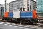 """Henschel 30807 - NBE RAIL """"214 011-9"""" 27.02.2012 Stuttgart,Hauptbahnhof [D] Harald S."""