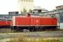 "Henschel 30811 - DB AG ""212 125-9"" 18.09.2000 Limburg(Lahn),Bahnbetriebswerk [D] Daniel Kempf"