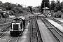 """Henschel 30813 - DB """"212 127-5"""" 14.07.1989 Lauterbach,Bahnhof [D] Malte Werning"""