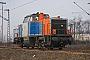 """Henschel 30818 - NBE RAIL """"214 006-9"""" 30.01.2011 Duisburg-Ruhrort [D] Rolf Alberts"""