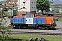 """Henschel 30818 - NBE RAIL """"214 006-9"""" 25.05.2014 Aschaffenburg,Hafenbahnhof [D] Ernst Lauer"""