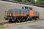 "Henschel 30818 - Rhenus Rail ""214 006-9"" 20.04.2017 Worms, Hafen [D] Harald Dinges"