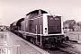 """Henschel 30828 - DB """"212 142-4"""" 23.03.1984 Ascheberg,Bahnhof [D] Michael Vogel"""
