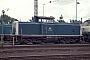 """Henschel 30829 - DB """"212 143-2"""" 05.09.1993 Karlsruhe,Bahnbetriebswerk [D] Ernst Lauer"""