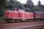 """Henschel 30846 - DB """"212 160-6"""" 03.08.1984 BadBerleburg,Bahnhof [D] Manfred Britz"""