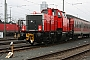 """Henschel 30849 - DB Regio """"214 014"""" 23.01.2009 Nürnberg,AbstellanlageOst [D] Michael Mrugalla"""