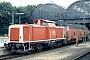 "Jung 13664 - DB ""212 188-7"" 08.1993 Kiel,Hauptbahnhof [D] Tomke Scheel"