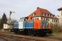 """Jung 13672 - NbE """"212 196-0"""" 30.03.2008 - Aschaffenburg, HafenbahnhofBernd Keller"""