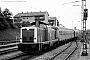 """Krauss-Maffei 18878 - DB """"211 282-9"""" 08.06.1987 Passau,Hauptbahnhof [D] Stefan Motz"""