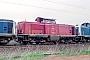 """Krauss-Maffei 18881 - DB """"211 285-2"""" 15.04.1989 Heilbronn,Bahnbetriebswerk [D] Ernst Lauer"""