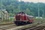 """Krauss-Maffei 18891 - DB """"211 295-1"""" 01.10.1992 Betzdorf,Bahnhof [D] Frank Becher"""