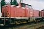 """Krupp 4335 - DB """"211 225-8"""" 04.07.1990 Kirchweyhe,Güterbahnhof [D] Andreas Kabelitz"""