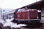 """Krupp 4346 - DB """"211 236-5"""" 14.02.1982 Neustadt(Aisch),Bahnhof [D] Helge Deutgen"""