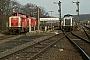 """Krupp 4368 - DB """"211 258-9"""" 11.04.1992 Grävenwiesbach,Bahnhof [D] Jürgen Leindecker"""