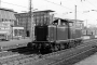 """MaK 1000021 - DB """"V 100 1002"""" __.06.1967 Münster,Hauptbahnhof [D] Peter Große"""