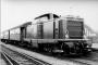 """MaK 1000022 - DB """"V 100 1003"""" 06.1965 Rheda,Bahnhof [D] Peter Große"""