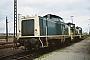 """MaK 1000029 - DB """"211 011-2"""" __.__.1988 Osnabück,Bahnbetriebswerk [D] Thomas Böking"""