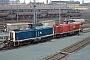 "MaK 1000036 - DB ""211 018-7"" 23.03.1991 - Schweinfurt, BahnbetriebswerkIngmar Weidig"