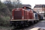 """MaK 1000039 - DB """"211 021-1"""" 02.01.1994 Würzburg,Bahnbetriebswerk [D] Manfred Britz"""