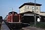 """MaK 1000041 - DB """"211 023-7"""" 28.07.1986 - Rothenburg (Tauber), BahnhofHelge Deutgen"""