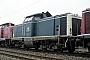 """MaK 1000065 - DB """"211 047-6"""" 15.04.1989 Heilbronn,Bahnbetriebswerk [D] Ernst Lauer"""