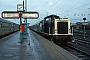 """MaK 1000066 - DB """"211 048-4"""" 08.04.1983 Düren,Hauptbahnhof [D] Jürgen Leindecker"""