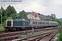 """MaK 1000078 - DB """"211 060-9"""" 27.07.1993 Ebermannstadt,Bahnhof [D] Norbert Schmitz"""