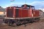 """MaK 1000100 - DB """"211 082-3"""" 24.09.1987 - Lebach, BahnhofManfred Britz"""