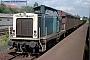 """MaK 1000111 - DB """"211 093-0"""" 12.08.1993 Reinheim,Bahnhof [D] Norbert Schmitz"""