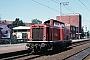 """MaK 1000115 - DB """"211 097-1"""" 23.07.1980 - Peine, BahnhofHelge Deutgen"""