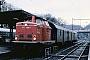 "MaK 1000117 - DB ""211 099-7"" 14.03.1981 - Steinach, BahnhofHelge Deutgen"