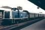 "MaK 1000119 - DB ""211 101-1"" 29.07.1986 Bayreuth,Hauptbahnhof [D] Michael Kuschke"