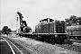"""MaK 1000126 - DB """"211 108-6"""" 22.07.1970 - Moers, BahnhofKarl-Hans Fischer"""