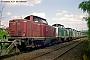 """MaK 1000128 - DB """"211 110-2"""" 30.07.1988 Heilbronn,Bahnbetriebswerk [D] Norbert Schmitz"""